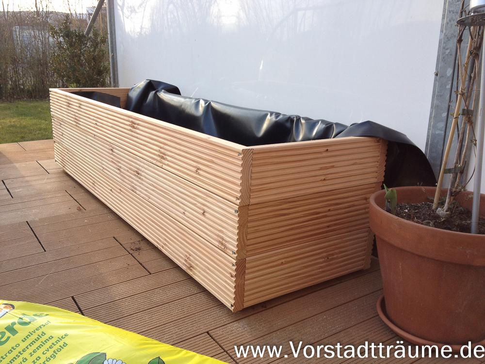 bau eines pflanzgef es pflanzkasten vorstadt tr ume. Black Bedroom Furniture Sets. Home Design Ideas