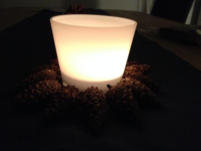 weihnachtliche teelichter vorstadt tr ume. Black Bedroom Furniture Sets. Home Design Ideas